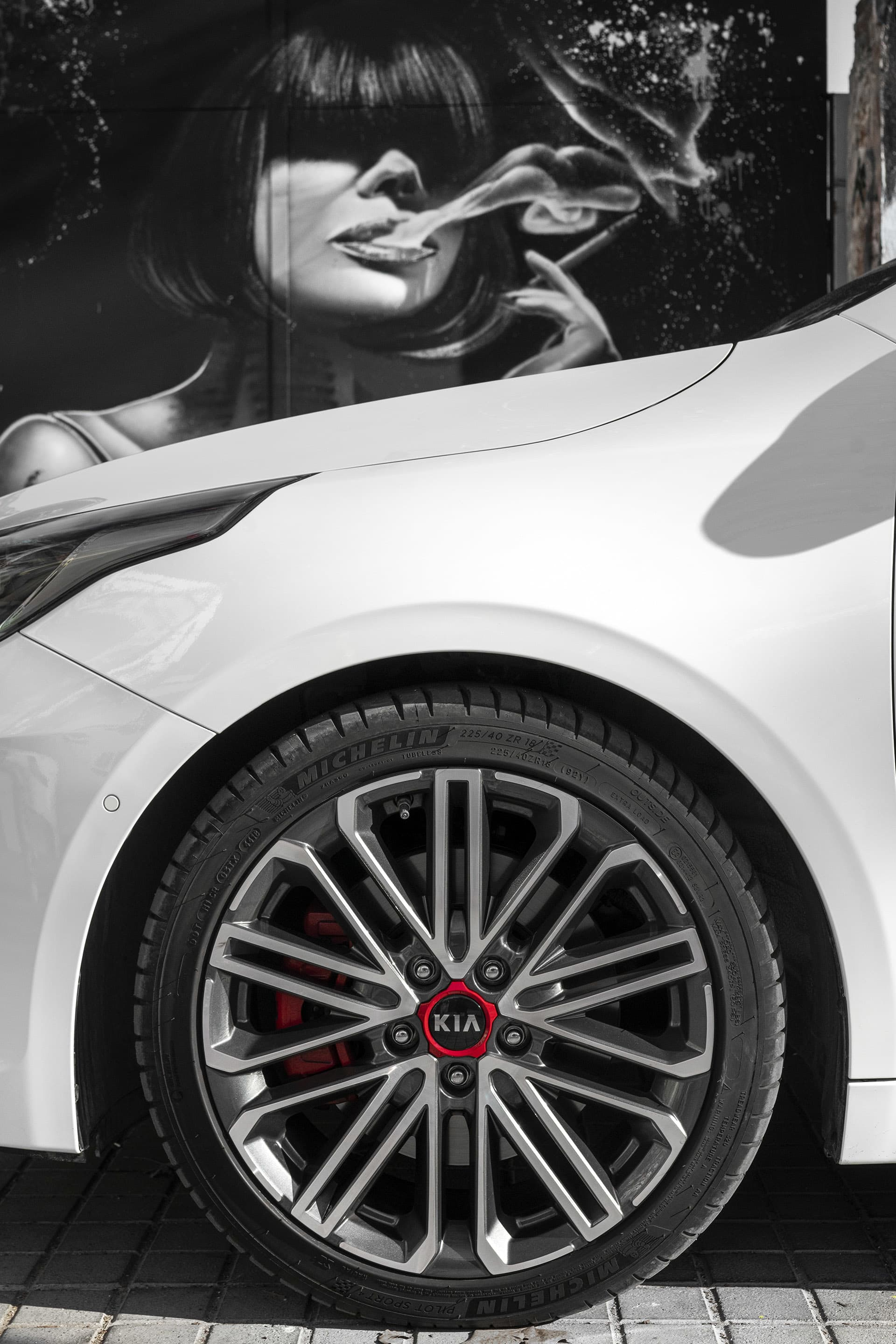 The rims on Proceed are cool, the red center cup matches the red brake calipers.