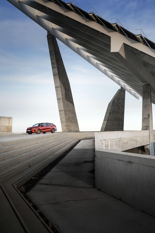 Under en dag fick jag njuta av nya Kia Proceed och cool arkitektur i Barcelona.