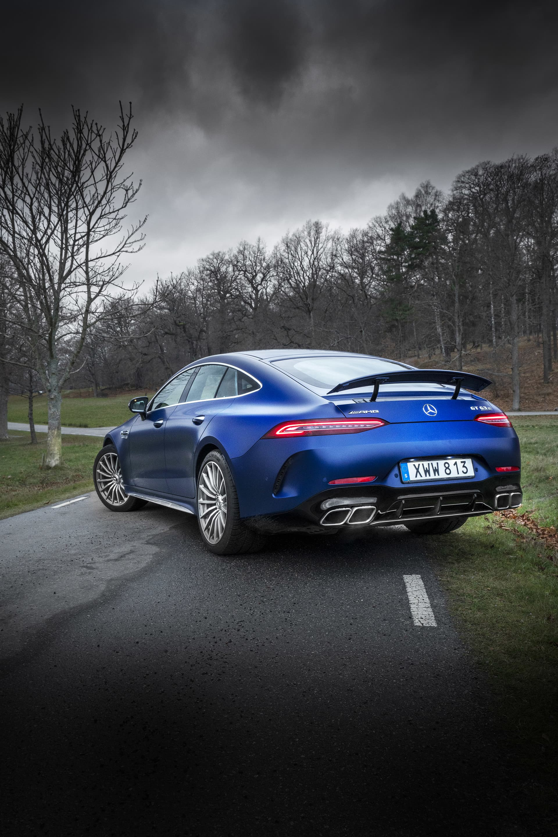 With the wing up and the quad exhausts that sing a beautiful song, the AMG GT63s is in a class of its own. If it is a 'Panamera killer' I leave unsaid, as opinions will differ too greatly…