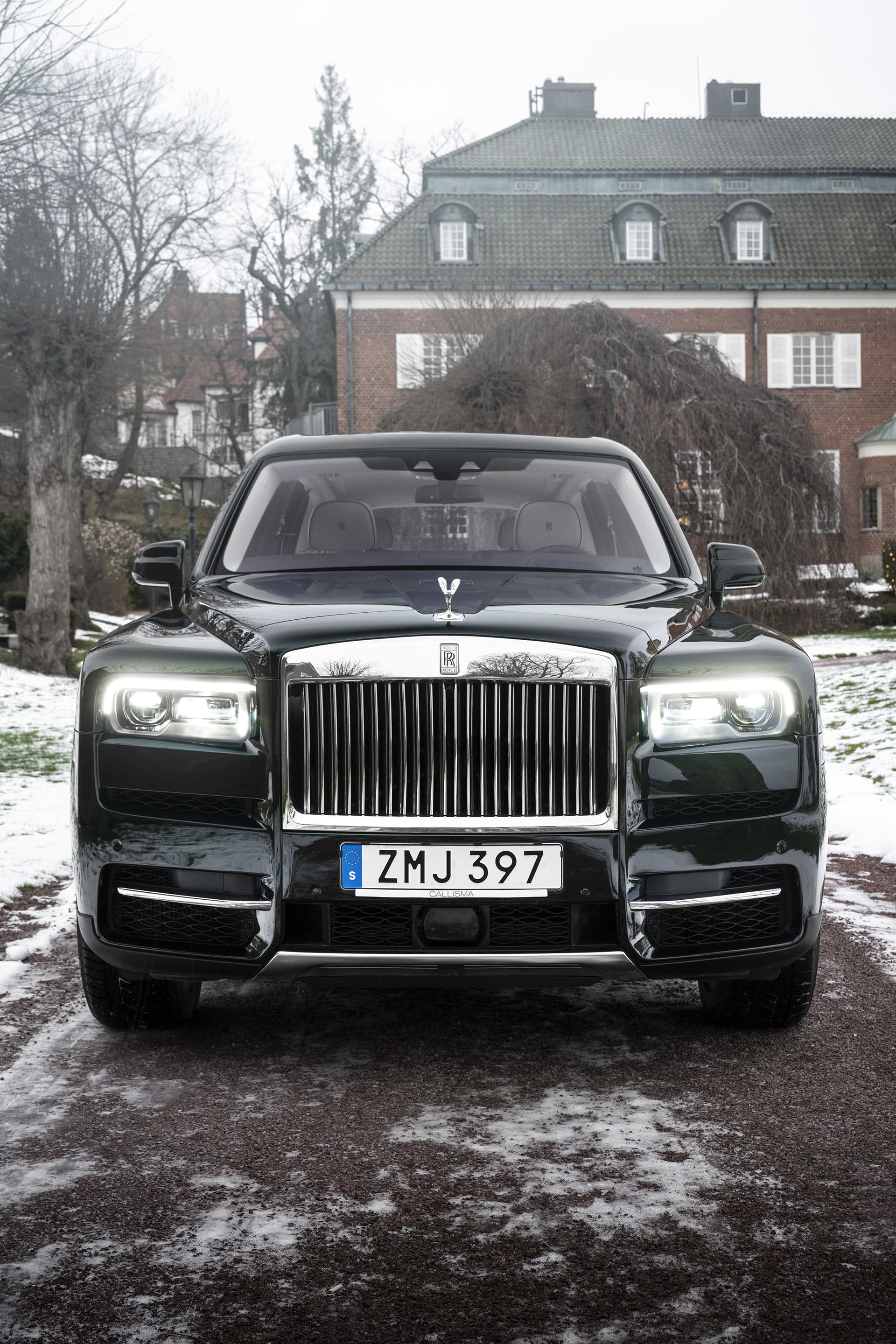 The front of the Cullinan is just like the rest of the car – strong and powerful. Few, if any other cars reach the level of luxury that the Cullinan does.