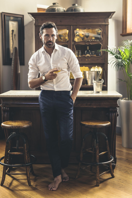 Shirt and trousers, ZaraMan.