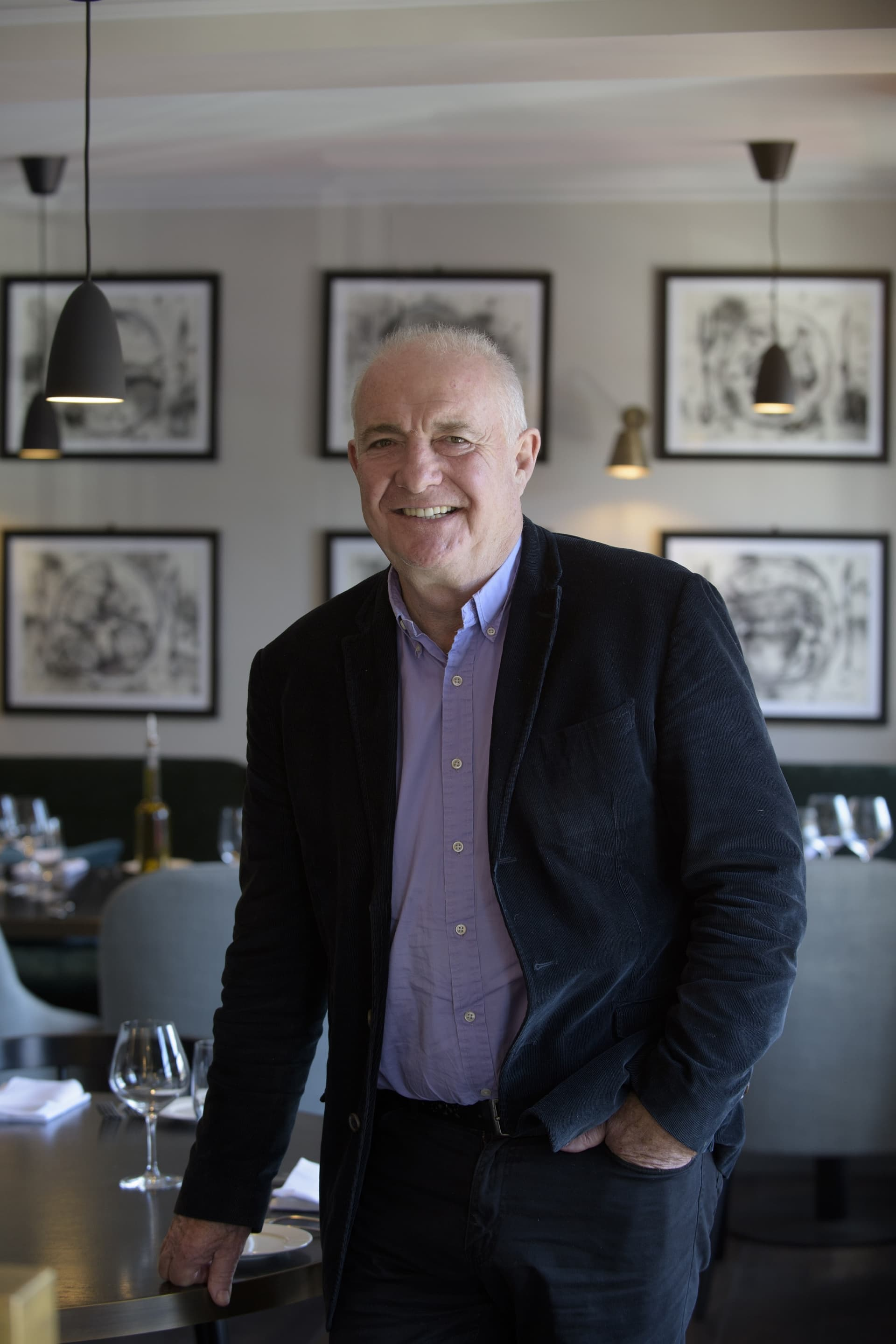 Rick Stein (photo by Andrew Callaghan).