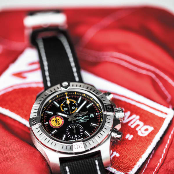Breitling Avenger Swiss Air Force Team Limited Edition, made in 550 copies.