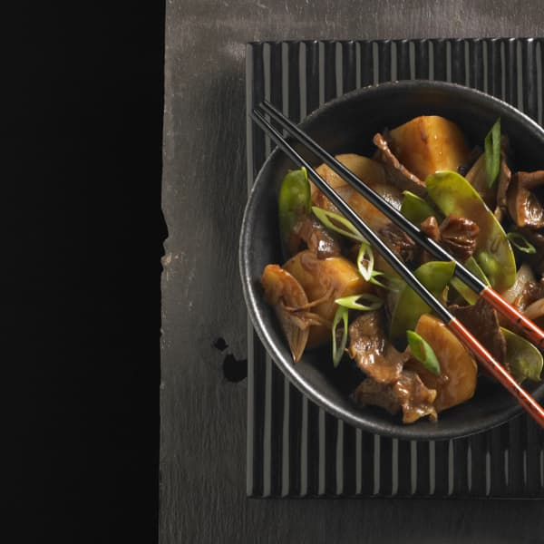 This Japanese beef and vegetable stew is a refreshing Far Eastern twist on a classic dish