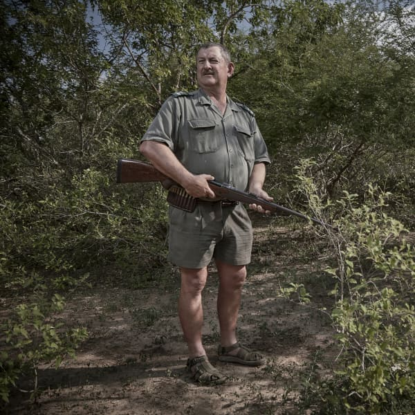 Piet VD Merwe - a geniune servant of conservation; charming, knowledgable and a warming sense of humor.