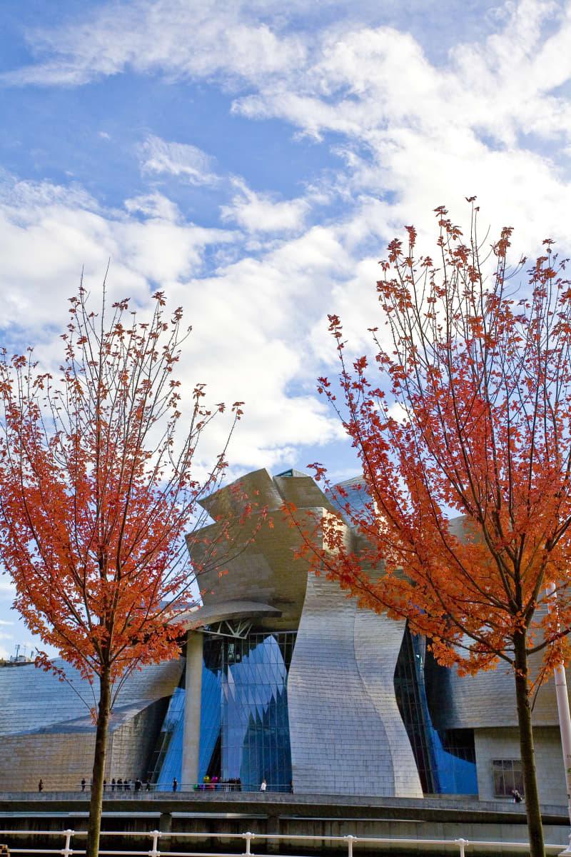 Nerua is situated inTheGuggenheim Museum Bilbao.
