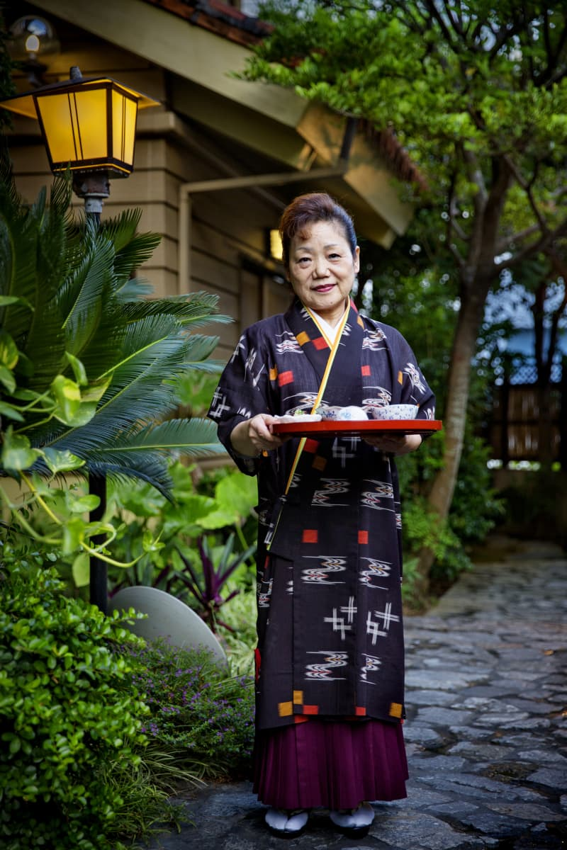 Hospitality is everywhere in Okinawa.