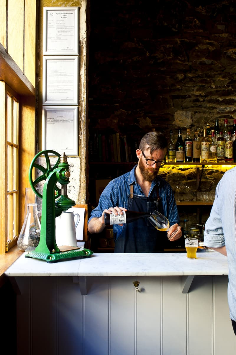 The bartenderatCleverLittleTailor.