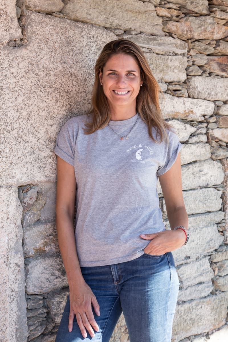 Sandra Tavares da Silva is known as Portugal's young hot-shot in the wine world and today also runs the winery in Douro along with her husband.
