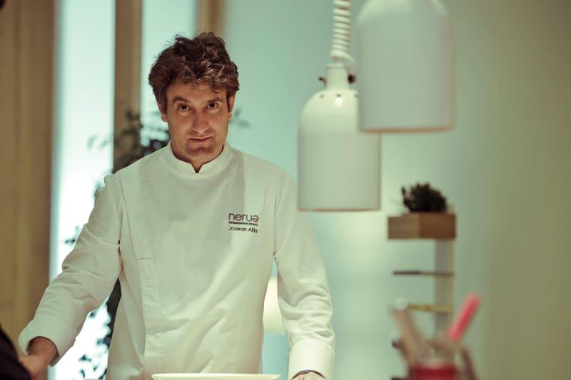 Josean Alija, the master of minimalist cuisine.