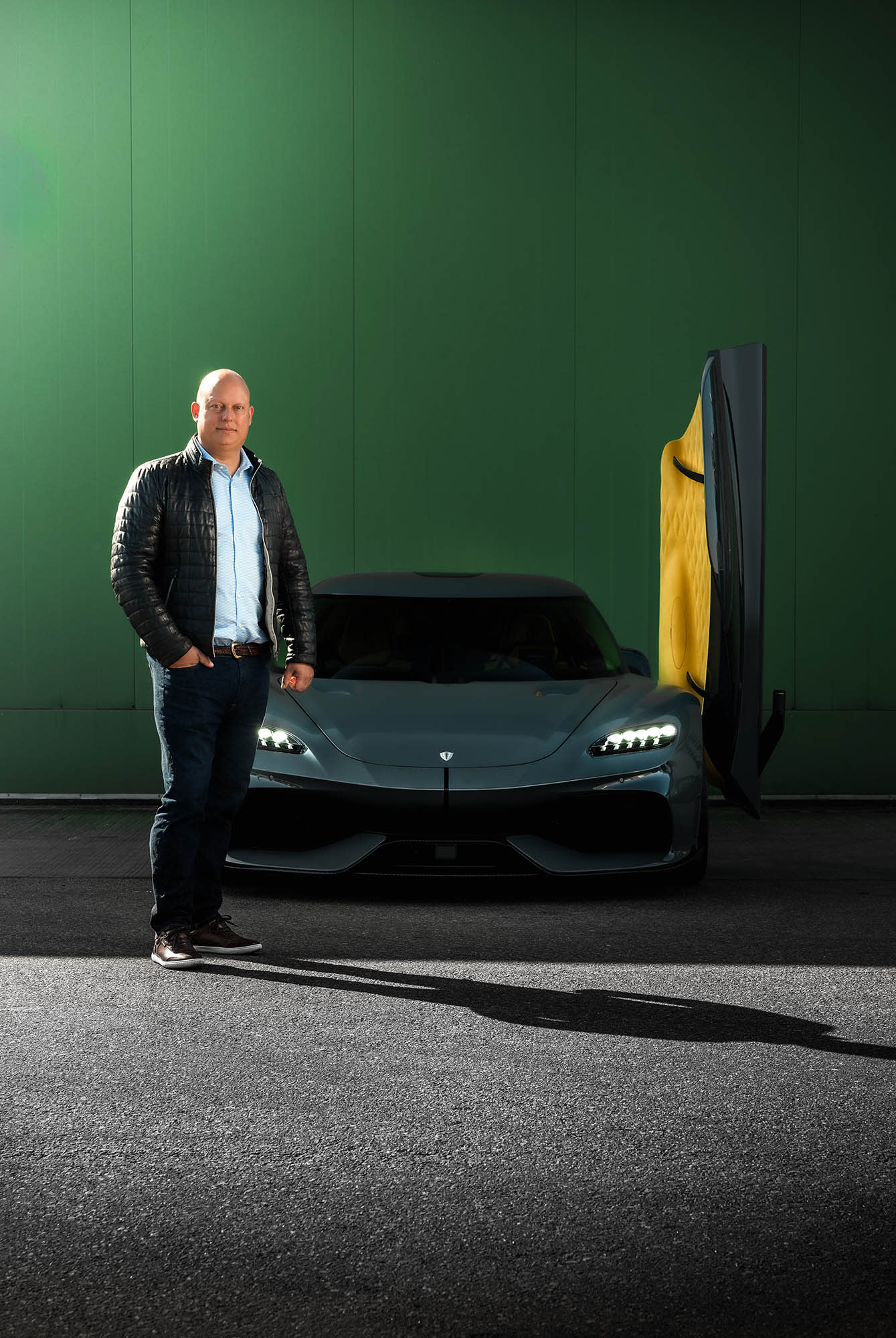 Christian von Koenigsegg, the man behind the dream factory in Ängelholm., Sweden. In the last 25 years, he has built hyper sports cars breaking records other only could dream of.