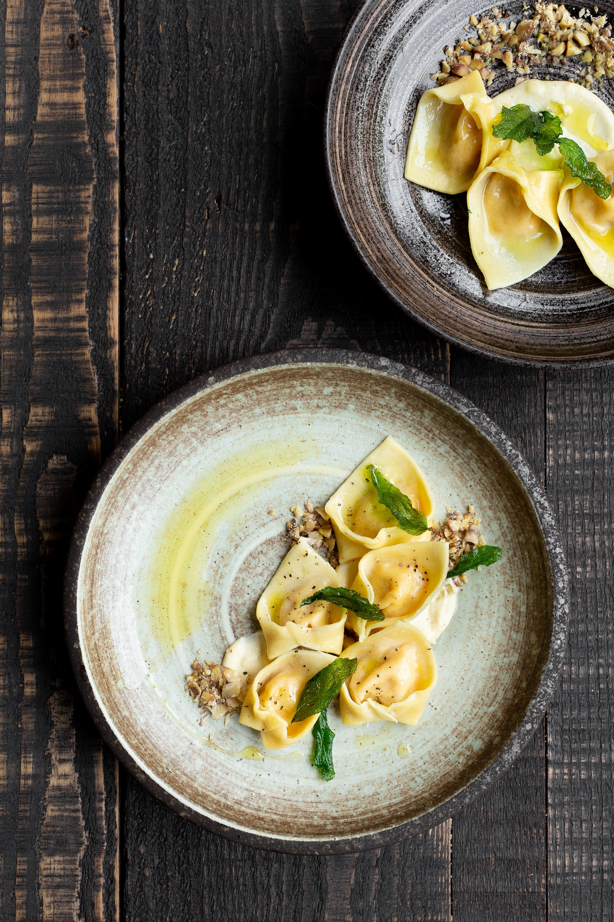 Butternut Squash and Sage Tortellini