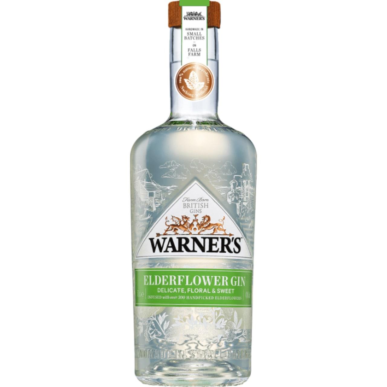 Warner's Elderflower Gin
