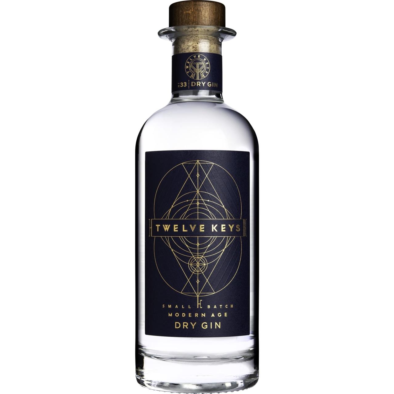 Twelve Keys Dry Gin