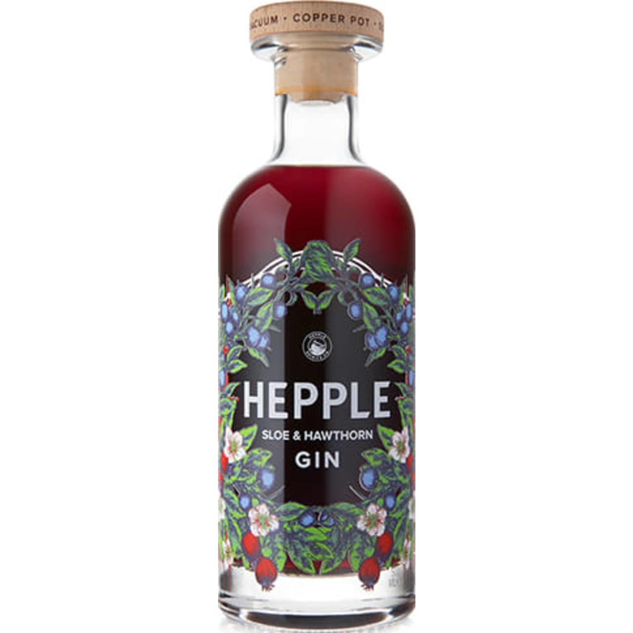 Hepple Sloe & Hawthorn Gin