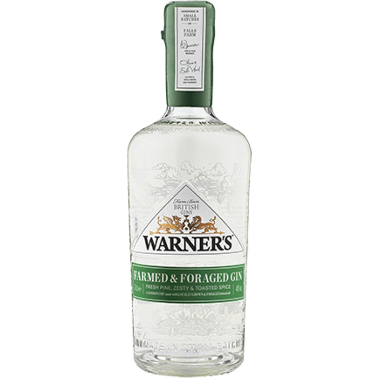 Warner's Farmed & Foraged Gin