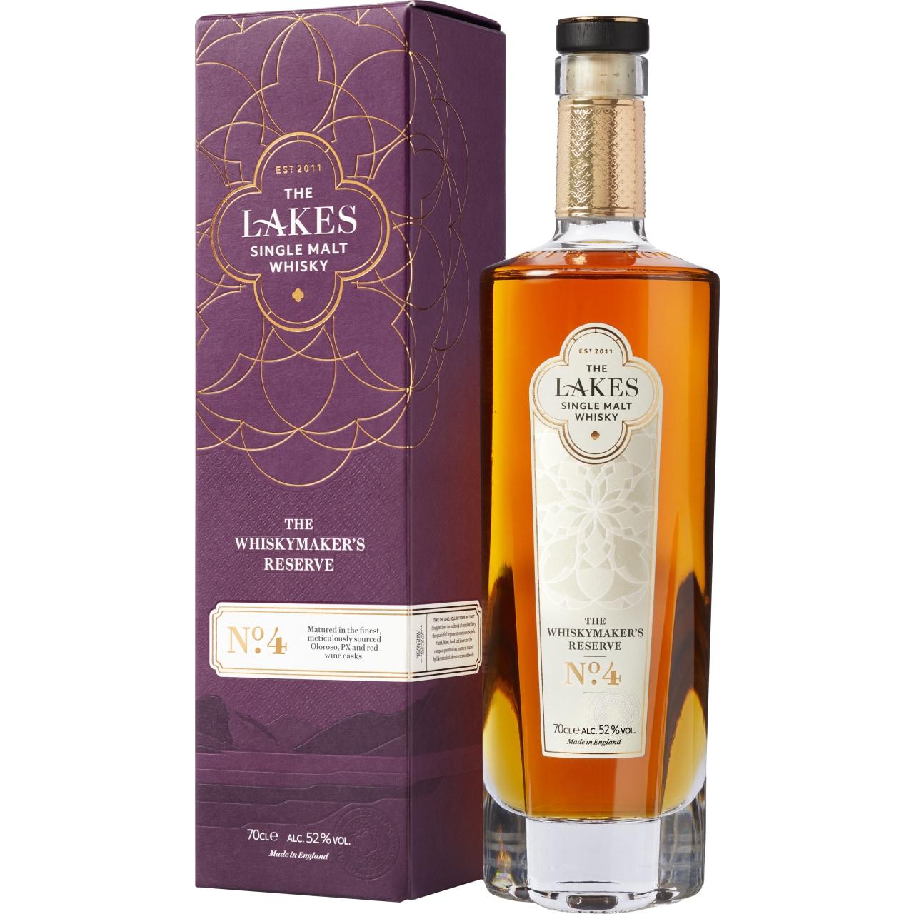 The Lakes Single Malt Whiskymaker's Reserve No. 4