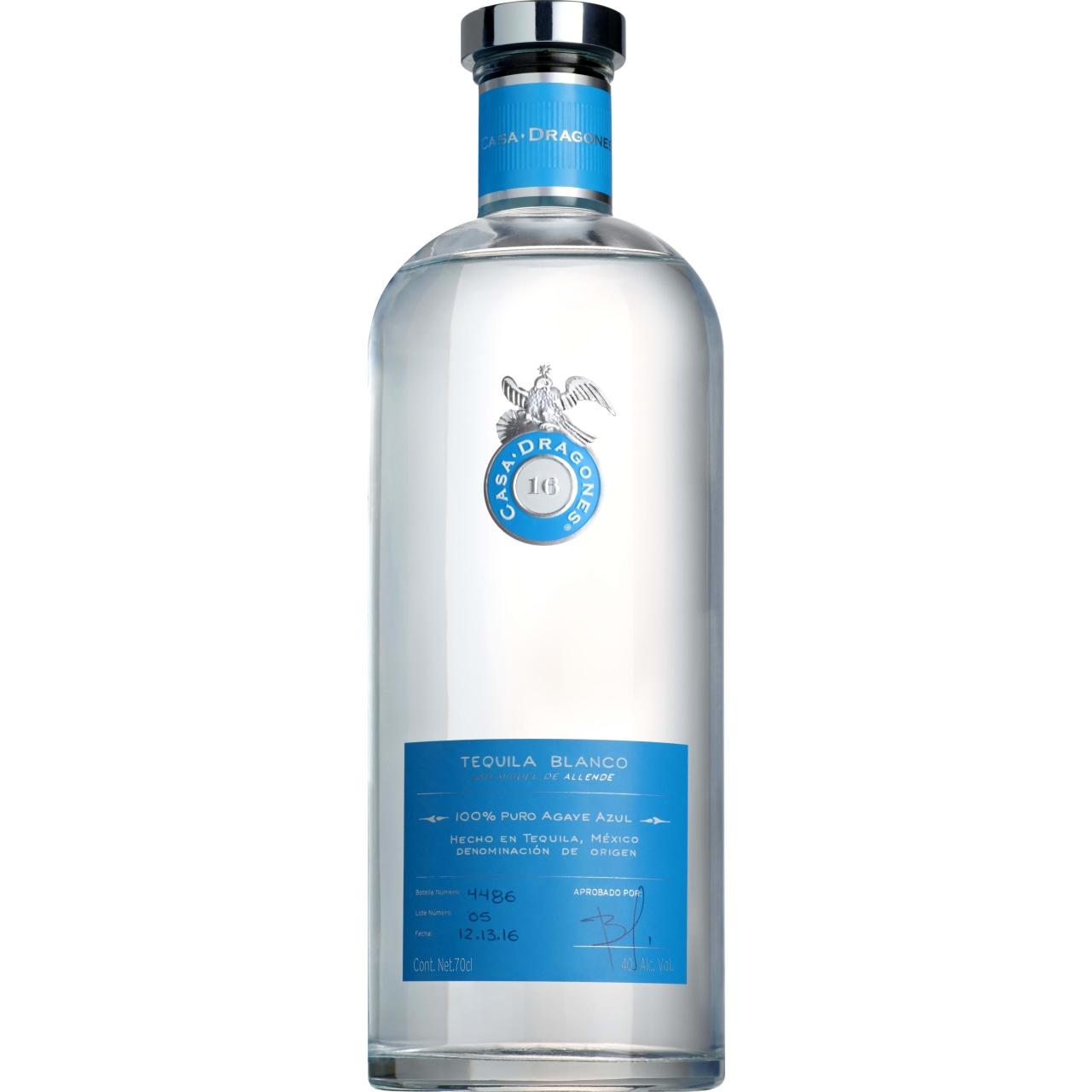 Casa Dragones Blanco Tequila