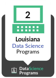 Number of Data Science Programs in Louisiana