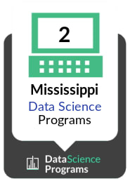 Number of Data Science Programs in Mississippi