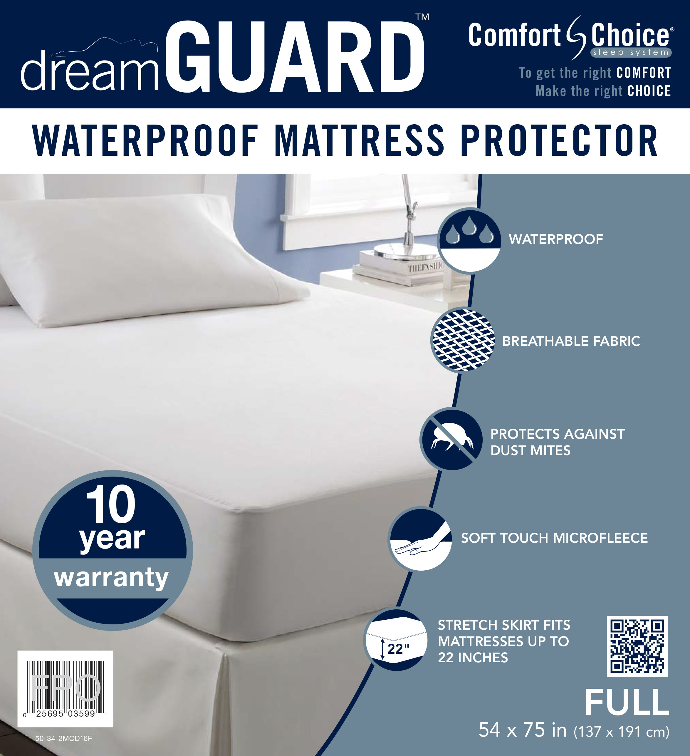 dreamGUARD Full Size Mattress Protector