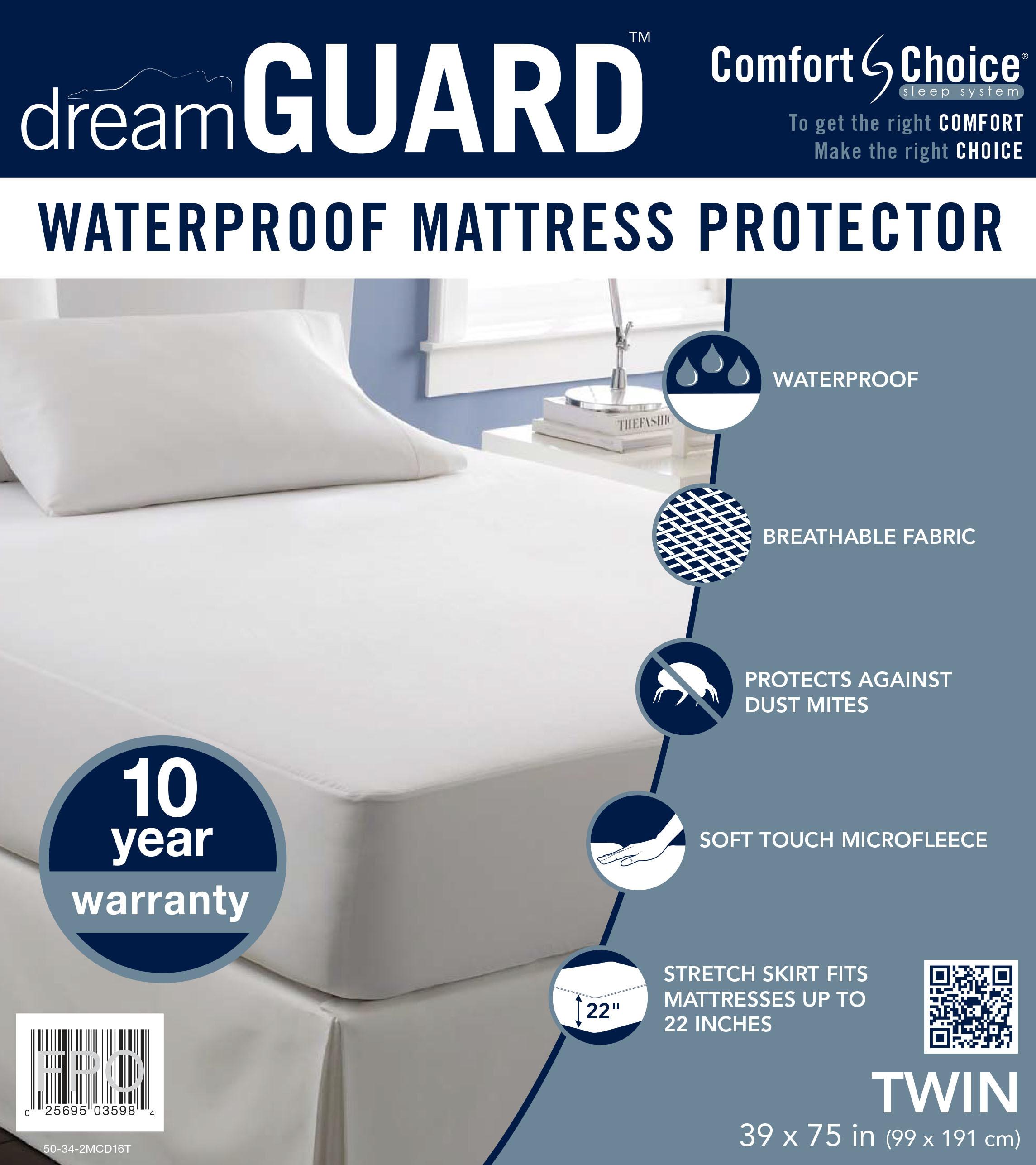 dreamGUARD Twin Size Mattress Protector