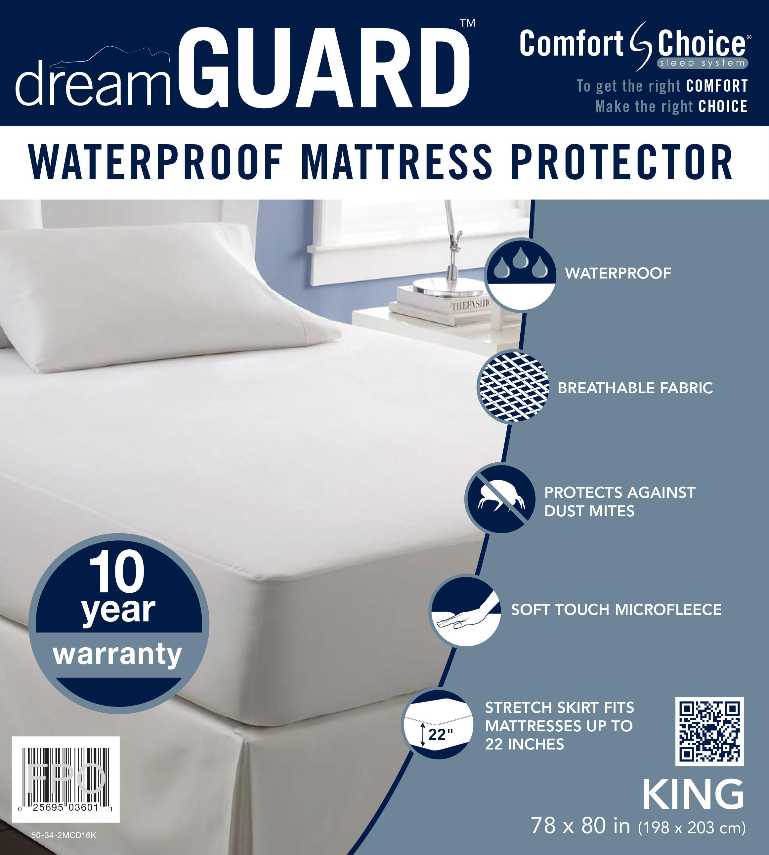dreamGUARD King Size Mattress Protector