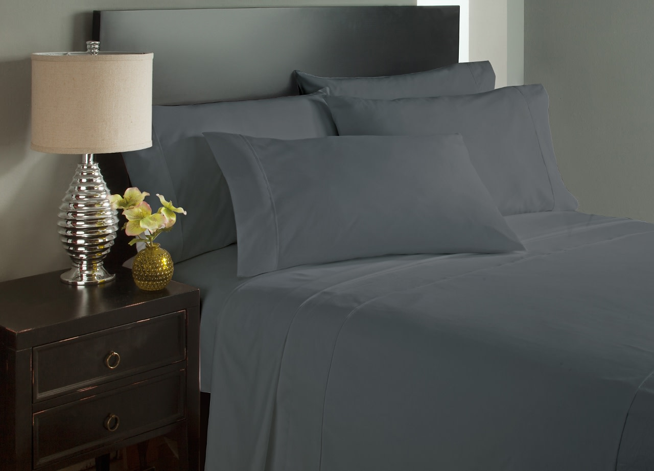 King Size Grey Bed Sheets