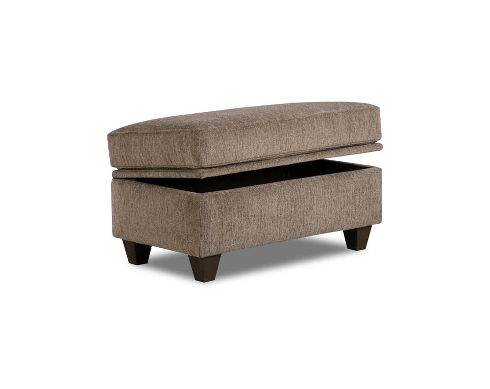 Mickey Pewter Storage Ottoman