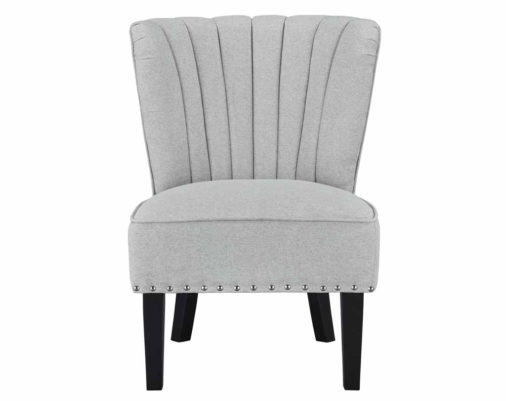 Emporium Greystone Armless Accent Chair