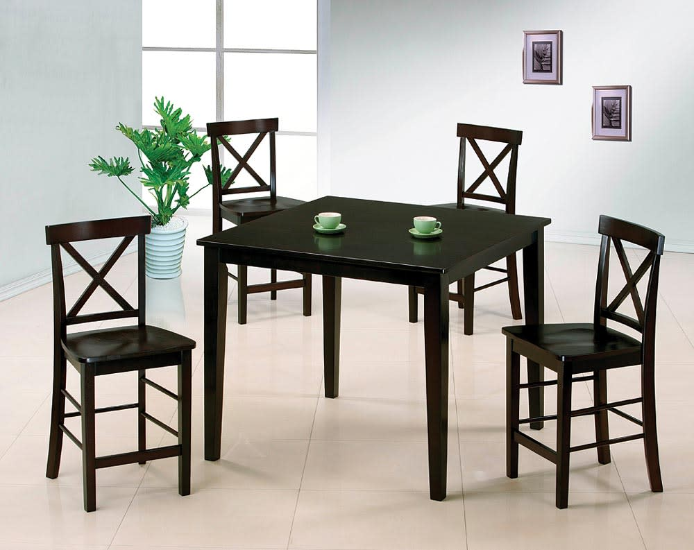 Theodore Wood 5 piece Counter Height Dining Set