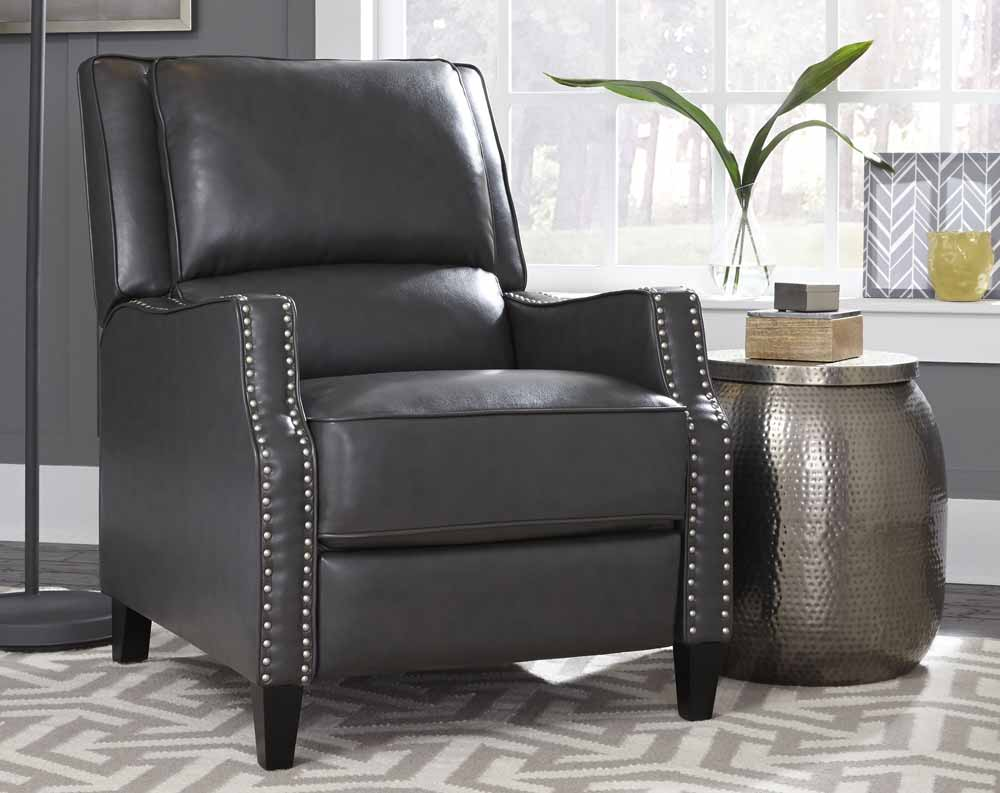 Alston Charcoal Recliner Accent Chair