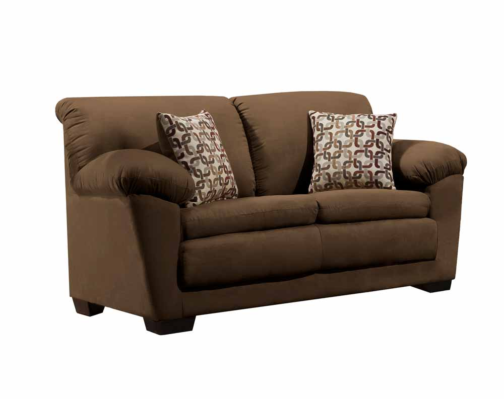 Adobe Chocolate Loveseat