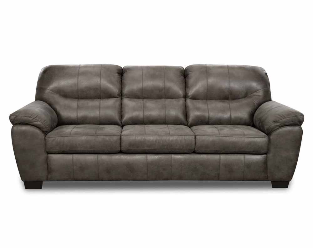 Denver Gunmetal Sofa