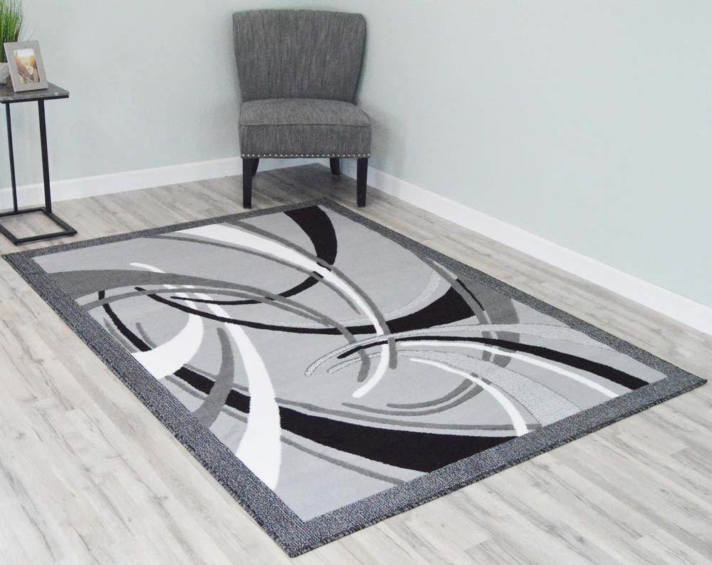 5  x 8  Rima Area Rug - Grey
