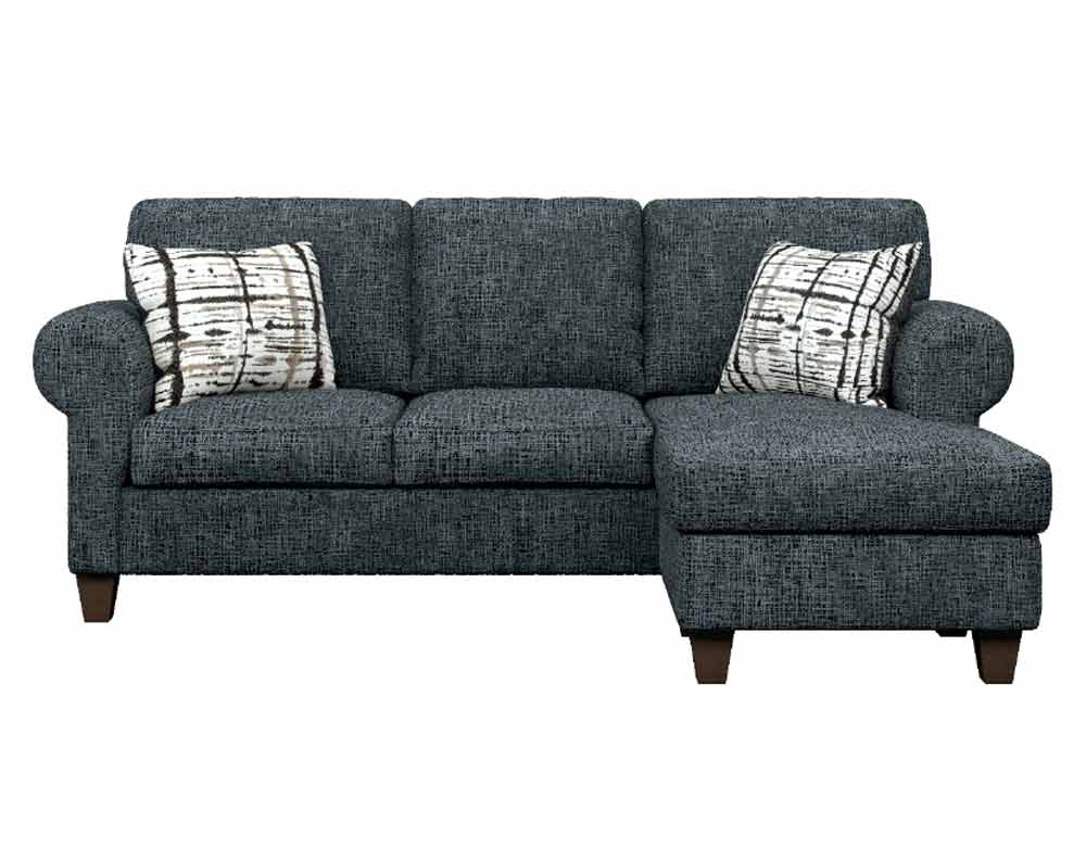Lincoln Grey Sectional with Chaise