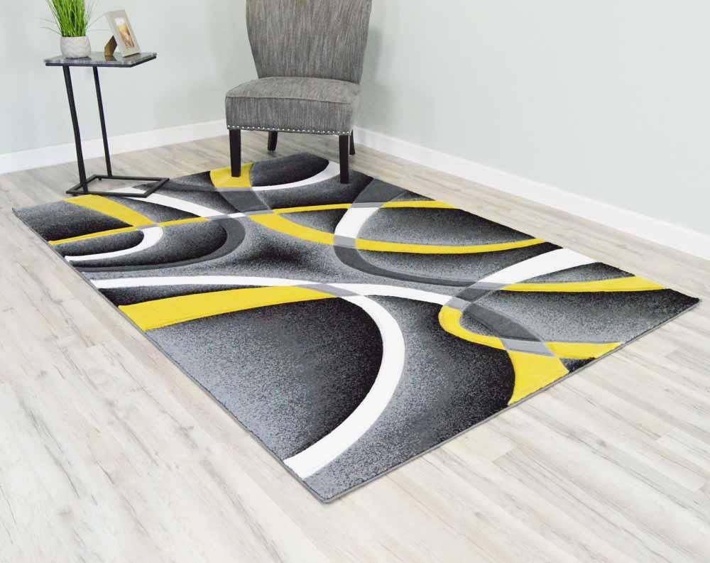 5  x 8  Premium Area Rug - Yellow