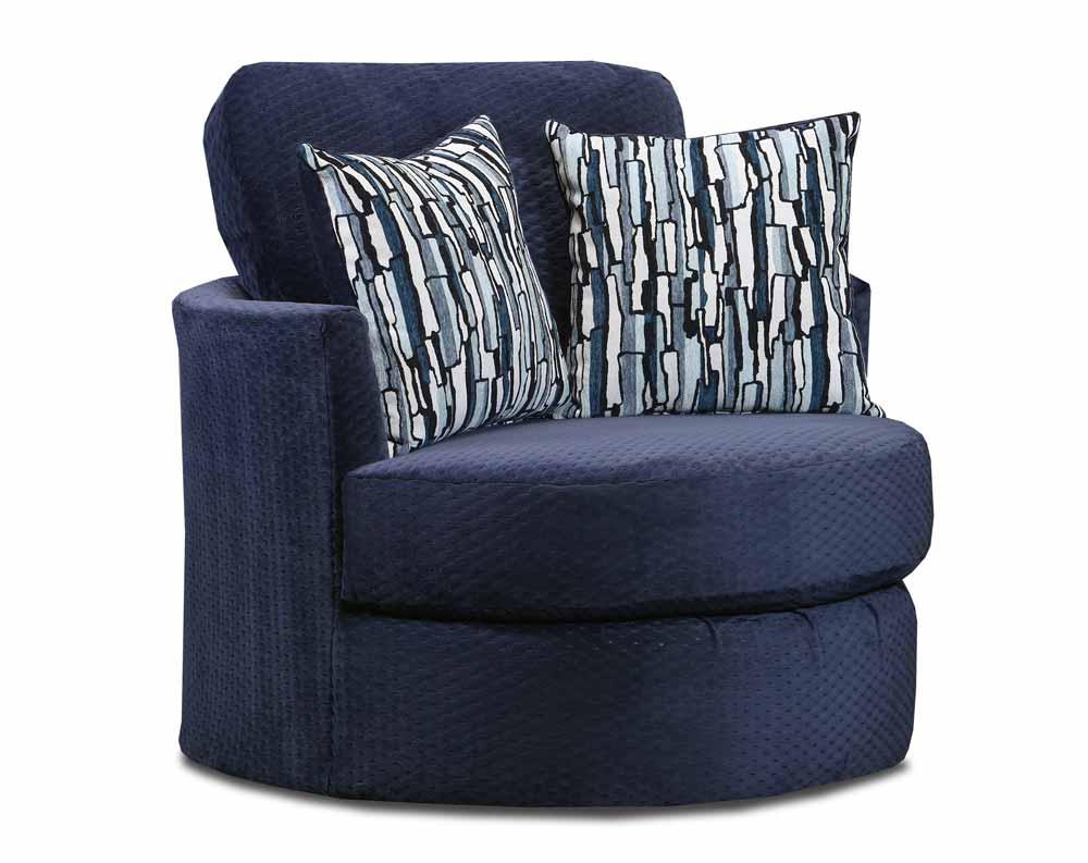Comet Navy Swivel Chair