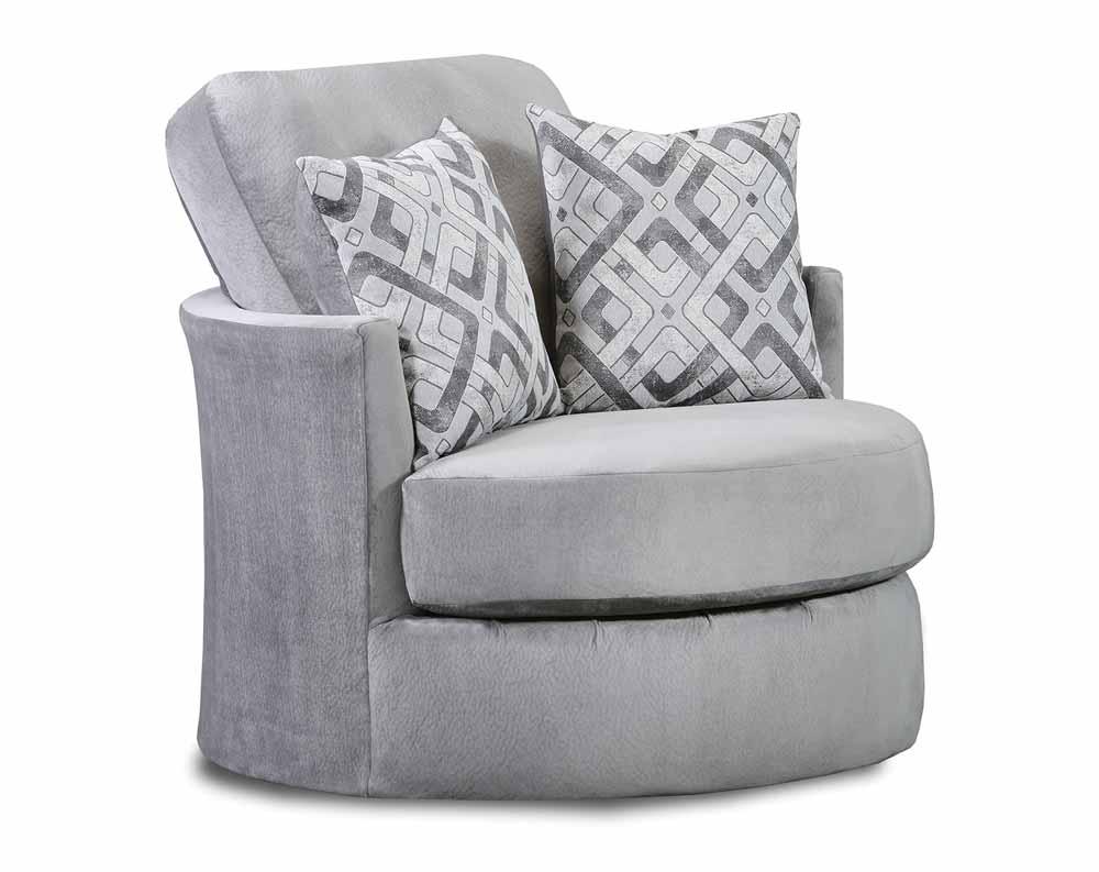 Sharpei Dove Swivel Chair