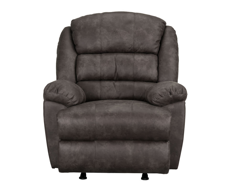 Mason Hall Brown Glider Recliner
