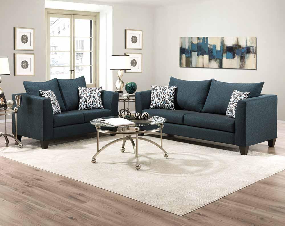 Crypton Turqouise Sofa
