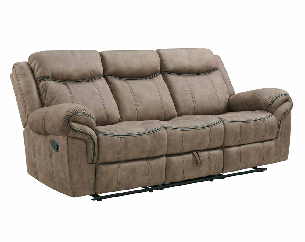 Sorrento Brown Motion Sofa