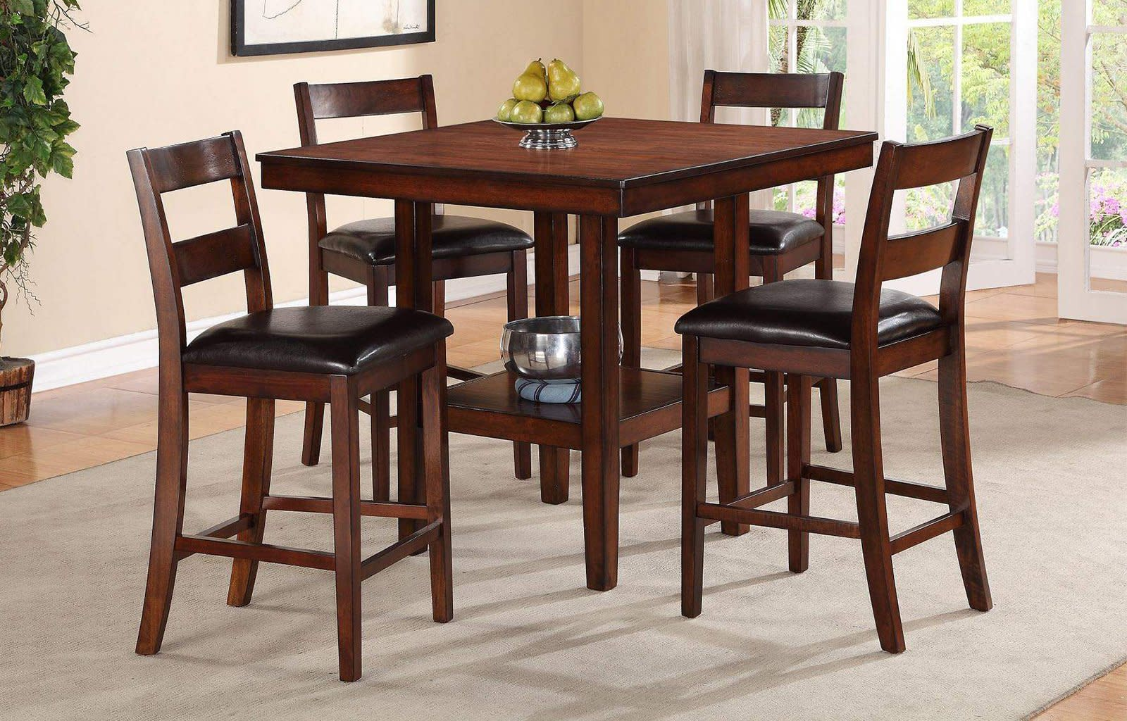 Caroline 5PC Counter Height Dining Collection