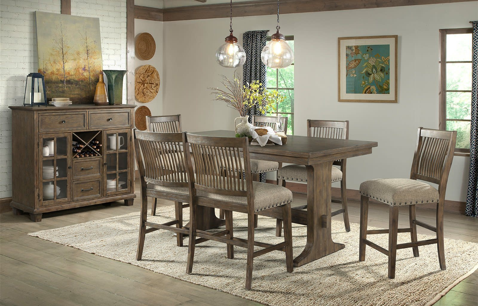 Charleston Counter Height Table