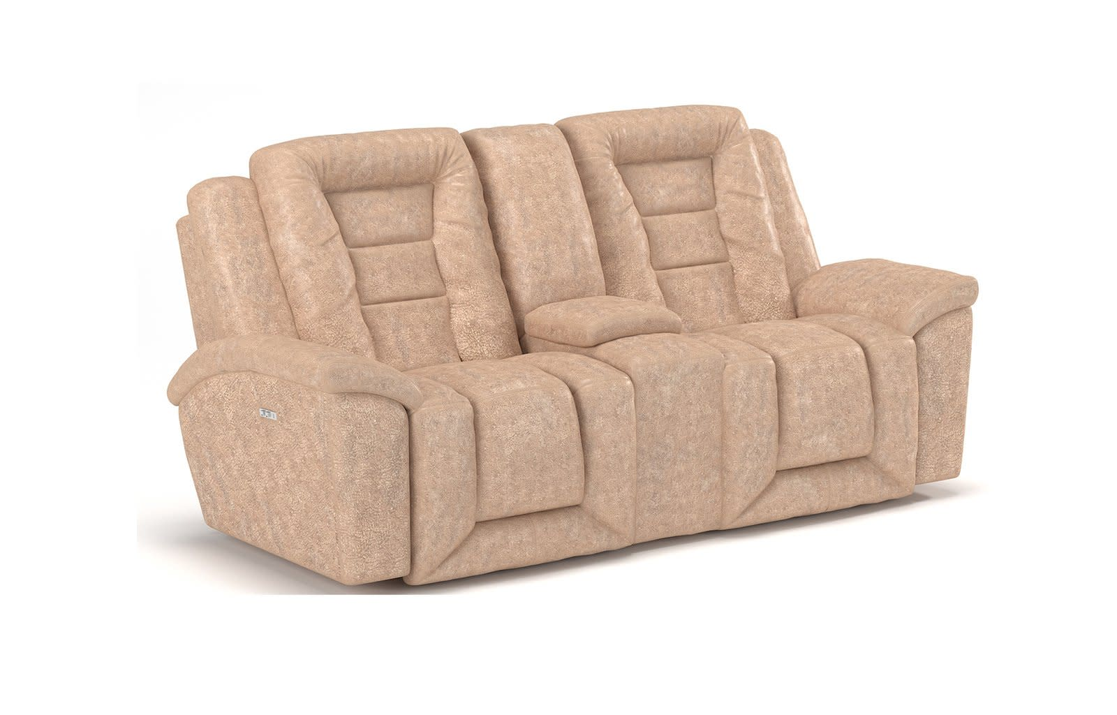 Grid Iron Power Reclining Loveseat