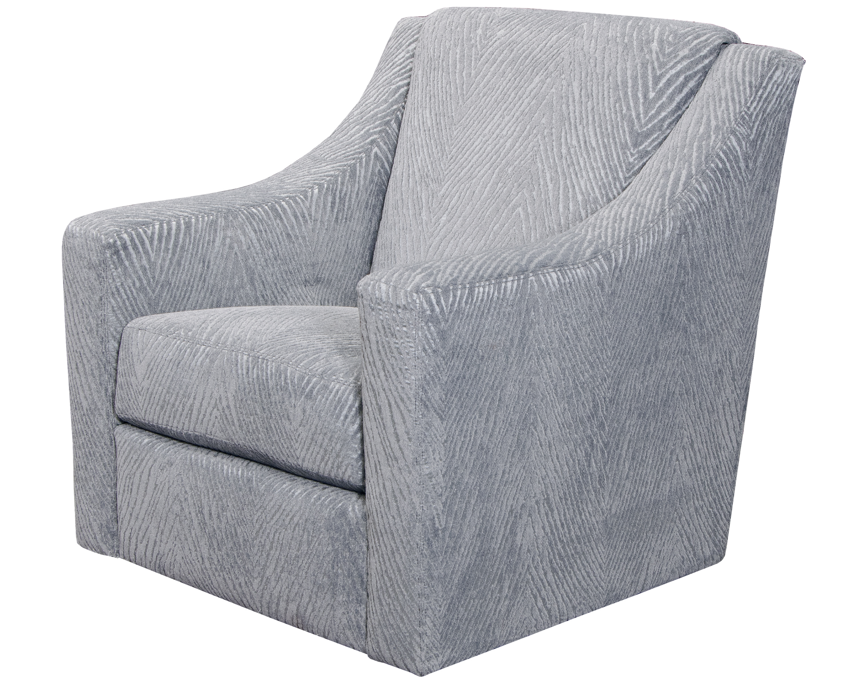 Lamar Grey Swivel Chair