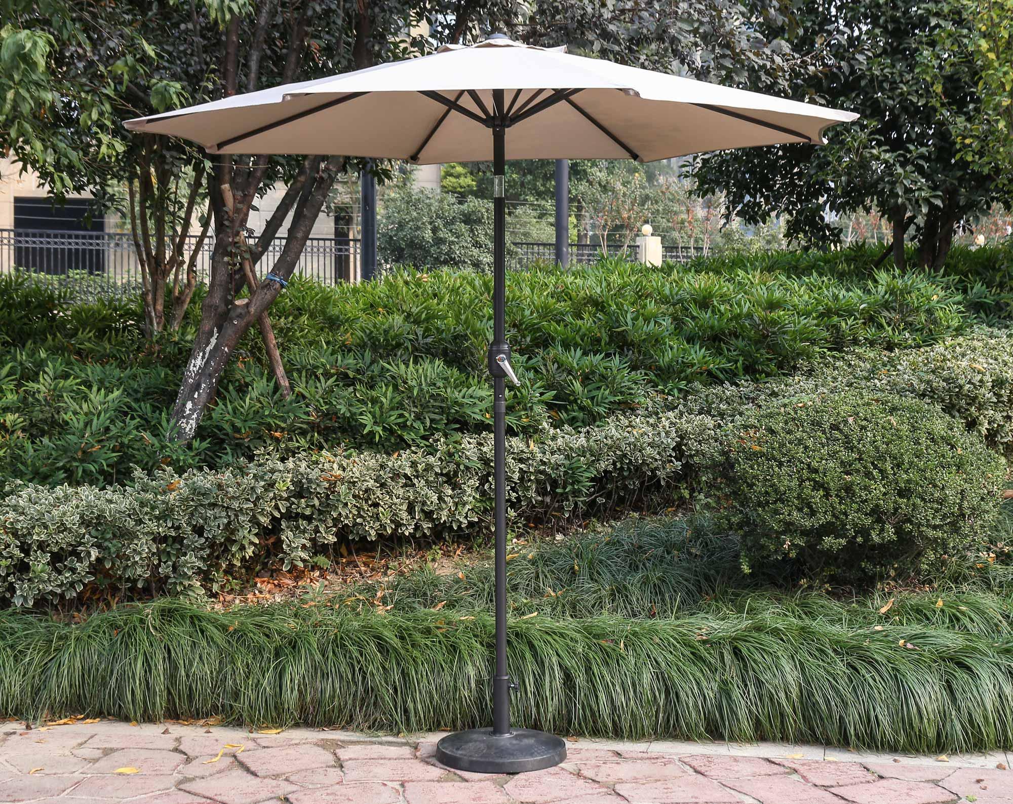 """96"""" Beige Umbrella"""