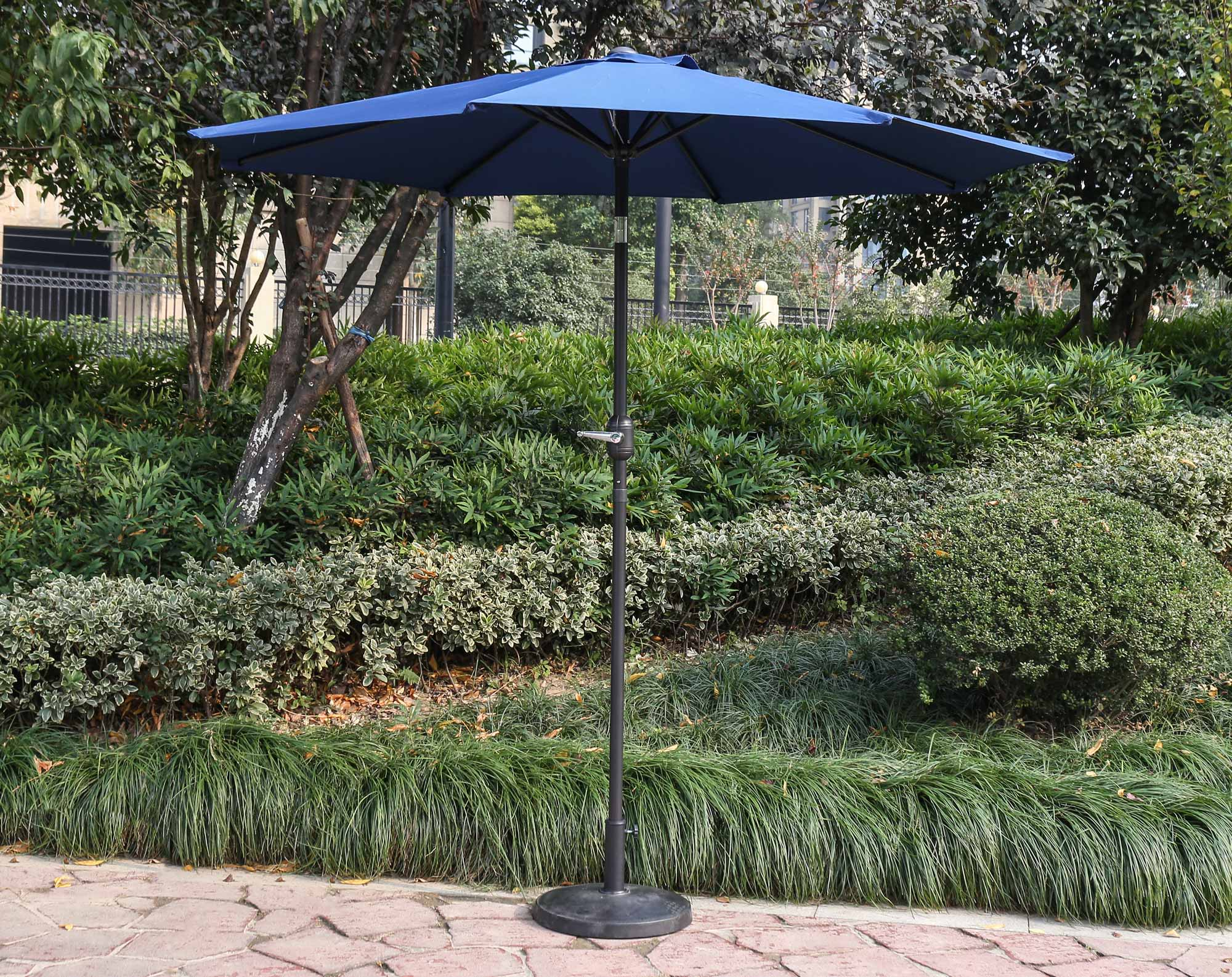 "96"" Navy Umbrella"