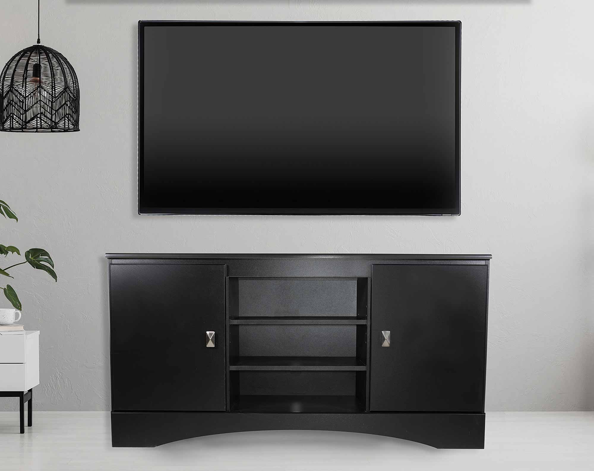 Colby Black TV Stand