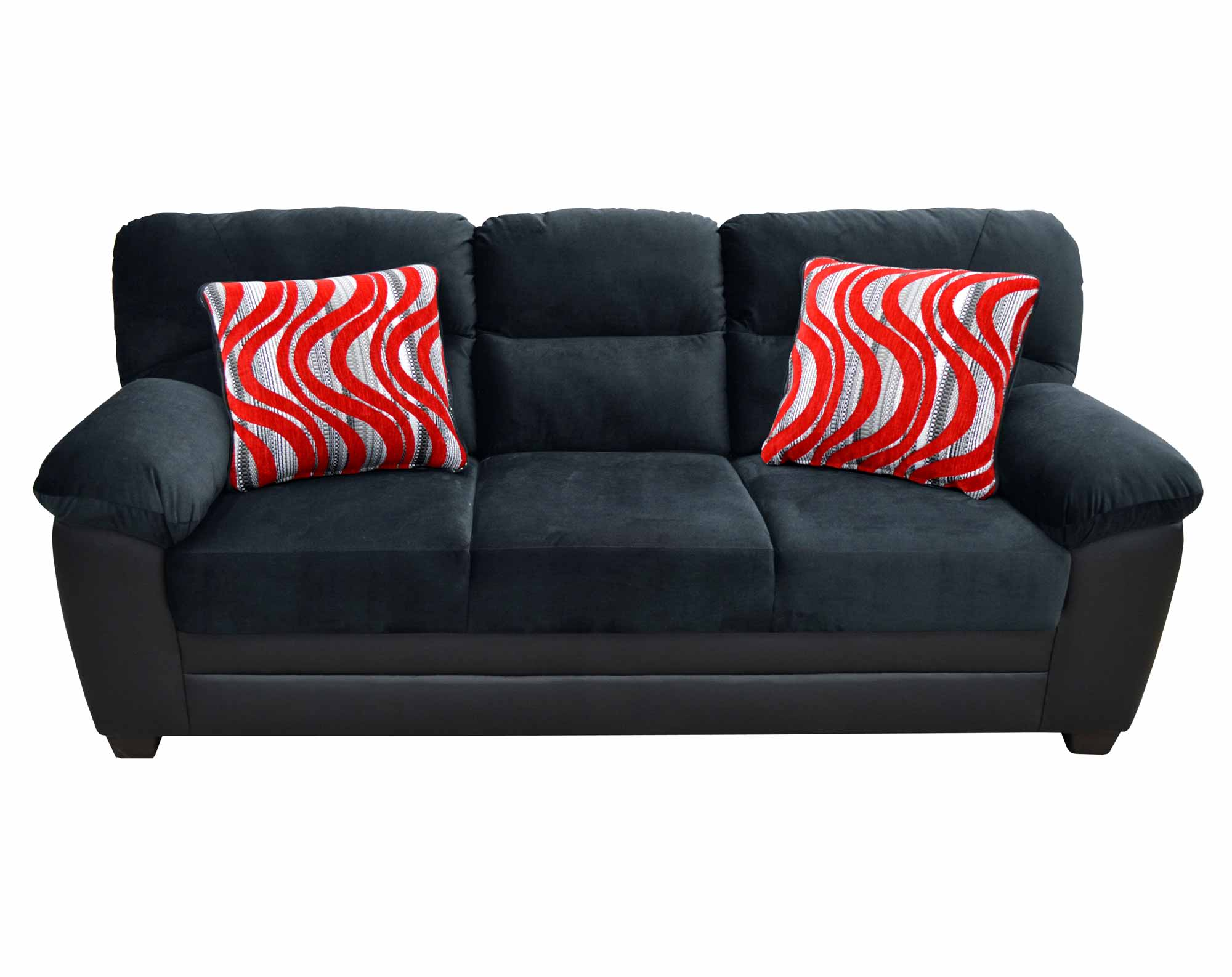 Peralta Black Sofa